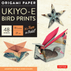 Origami Paper 8 1/4 (21 CM) Ukiyo-E Bird Print 48 Sheets: Tuttle Origami Paper: High-Quality Double-Sided Origami Sheets Printed with 8 Different Desi Cover Image
