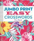 Jumbo Print Easy Crosswords #1 (Large Print Crosswords) Cover Image