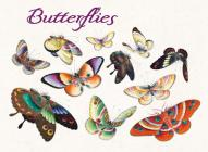 Butterflies Boxed Notecard Ass Cover Image
