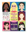Make-A-Face Fashion Faces Sticker Pad (Sticker & Activity Pads) Cover Image
