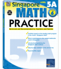 Math Practice, Grade 6: Reviewed and Recommended by Teachers and Parents (Singapore Math Practice) Cover Image