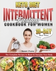 Keto Diet and Intermittent Fasting Cookbook for Women Cover Image