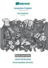 BABADADA black-and-white, Australian English - Bulgarian (in cyrillic script), visual dictionary - visual dictionary (in cyrillic script): Australian Cover Image