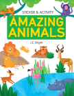 Amazing Animals Activities & Stickers (Clever Sticker & Activity) Cover Image
