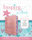 Inspire Bible for Girls NLT (Leatherlike, Pink): The Bible for Coloring & Creative Journaling Cover Image