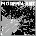 Modern Art Calendar 2021: Official Modern Art Calendar 2021, 12 Months Cover Image