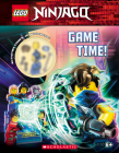 Game Time! (LEGO Ninjago: Activity Book with Minifigure) Cover Image