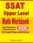SSAT Upper Level Math Workbook 2019 & 2020: Extra Practice for an Excellent Score + 2 Full Length SSAT Upper Level Math Practice Tests Cover Image