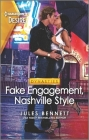 Fake Engagement, Nashville Style: An Exes to Lovers Nashville Romance Cover Image