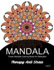 Mandala Therapy Anti Stress Vol.3: Flower Mandala Coloring book for Relaxation Cover Image