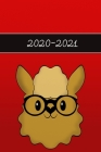 2020 - 2021: Funny Lama Wochenkalender für 2 Jahre - Kalender - Zielsetzung - Zeitmanagement - Produktivität - Terminplaner - Termi Cover Image