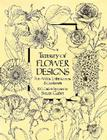 Treasury of Flower Designs for Artists, Embroiderers and Craftsmen (Dover Pictorial Archives) Cover Image