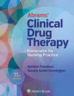 Abrams' Clinical Drug Therapy: Rationales for Nursing Practice Cover Image