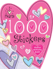 1000 Stickers I Love Hearts Cover Image