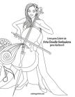 Livro para Colorir de Arte Doodle Sonhadora para Adultos 6 Cover Image
