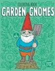Garden Gnomes Coloring Book Cover Image