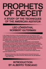 Prophets of Deceit: A Study of the Techniques of the American Agitator Cover Image