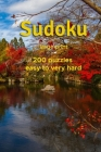 Sudoku large print: 200 puzzles easy to very hard Cover Image