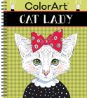 Colorart Coloring Book - Cat Lady Cover Image