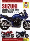 Suzuki: GSF600, 650 & 1200 Bandit Fours '95 to '06 (Haynes Service & Repair Manual) Cover Image