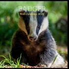 Badger Wall Calendar 2021: Great gifts ideas for teacher and for special holidays ( Christmas, Halloween and Thanksgiving) birthdays party Birthd Cover Image