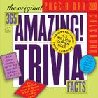 The Original 365 Amazing Trivia Facts Page-A-Day Calendar 2008 Cover Image