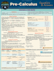Pre-Calculus Equations & Answers: A Quickstudy Laminated Reference Guide Cover Image