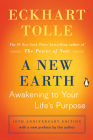 A New Earth (Oprah #61): Awakening to Your Life's Purpose (Oprah's Book Club) Cover Image