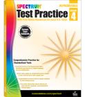 Spectrum Test Practice, Grade 4 Cover Image