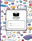 Academic Planner for Students: Study Planner Elementary Scheduling for Students, Highschool, College and Faculty Exam Preparation, Study Goal Tracker Cover Image