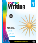 Spectrum Writing, Grade 1 Cover Image