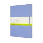 Moleskine Classic Notebook, Extra Large, Plain, Hydrangea Blue, Soft Cover (7.5 x 9.75) Cover Image