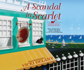 A Scandal in Scarlet (Sherlock Holmes Bookshop Mystery #4) Cover Image