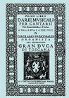 D'Arie Musicali per Cantarsi, Primo Libro & Secondo Libro. [Facsimiles of the 1630 editions.] Cover Image