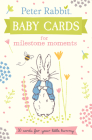Peter Rabbit Baby Cards for Milestone Moments: 30 Cards for Your Little Bunny Cover Image
