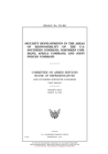 Security developments in the areas of responsibility of the U.S. Southern Command, Northern Command, Africa Command, and Joint Forces Command: Committ Cover Image