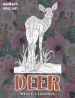 Mandala Coloring Wall Art - Animals - Deer Cover Image