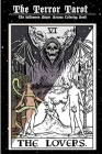The Terror Tarot: The Halloween Major Arcana Coloring Book Cover Image