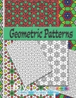 Geometric patterns: Coloring Book For Adults Relaxation Cover Image
