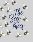 2020-2024 Five Year Diary; The Bee's Knees: UK Month to View Diary Cover Image
