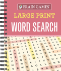 Brain Games - Large Print Word Search Cover Image