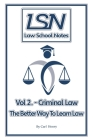 Law School Notes: Criminal Law Cover Image