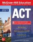McGraw-Hill Education ACT 2021 Cover Image