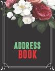 Address Book: Birthdays & Address Book for Contacts, Addresses, Phone Numbers, Email, Social Media & Birthdays (Address Books) Cover Image