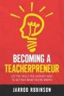 Becoming a Teacherpreneur Cover Image