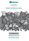 BABADADA black-and-white, slovenčina - Español de América Latina, obrázkový slovník - diccionario visual: Slovak - Latin American Spanish, visual Cover Image