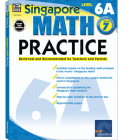 Math Practice, Grade 7: Reviewed and Recommended by Teachers and Parents (Singapore Math Practice) Cover Image