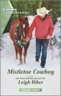 Mistletoe Cowboy: A Clean Romance (Kansas Cowboys #8) Cover Image