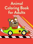 Animal Coloring Book For Adults: coloring pages with funny images to Relief Stress for kids and adults Cover Image