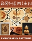 Bohemian Pyrography Patterns: Collection of Pyrography Patterns Traceable for Beginners and Advanced Cover Image